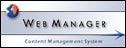 Logo for 'Web Manager' software